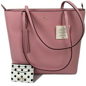 Kate Spade Jana Pink Shoulder Bag + Wallet. Set.